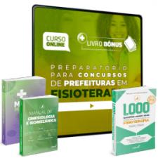 Preparatório Online para Concursos de Prefeituras em Fisioterapia 2020 (Com 3 Livros Bônus)