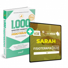 Preparatório Online para Concursos SARAH em Fisioterapia 2020 (Com Livro Bônus)