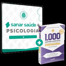 Sanar Saúde + Psicologia (12 meses de assinatura com 1000 Questões 2020 bônus)