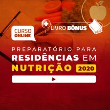 Preparatório Online Extensivo para Residências em Nutrição 2020 (Sem Livro)