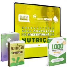 Preparatório Online para Concursos de Prefeituras em Nutrição 2020 (Com 3 Livros Bônus)