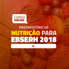 Preparatório Online para Concursos EBSERH em Nutrição (sem livro)