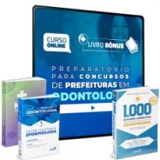 Preparatório Online para Concursos de Prefeituras em Odontologia 2020 (Com 3 Livros Bônus)