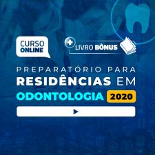 Preparatório Online Extensivo para Residências em Odontologia 2020 (Sem Livro)