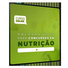 Preparatório Online para Concursos em Nutrição 2020 (Sem Livro Bônus) - 6 meses de acesso