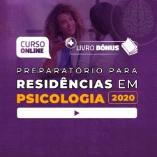 Preparatório Online para Residências em Psicologia 2020 + Livro BÔNUS