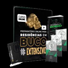 Preparatório Online para Residência em BucomaxiloFacial - EXTENSIVO 2020 (Com Livro Bônus e Odontopocket)