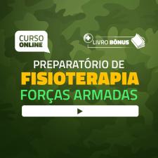 Preparatório Online para Concursos de Forças Armadas em Fisioterapia 2020 (Com Livro Bônus)