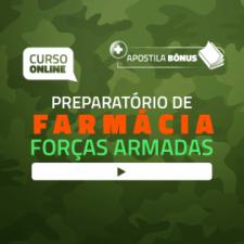 Preparatório Online para Concursos de Forças Armadas em Farmácia 2020