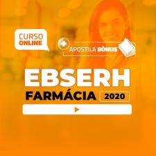 Preparatório Online para Concursos EBSERH em Farmácia 2020 (Com Apostilas Bônus)