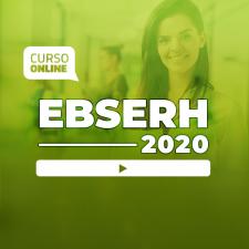 Preparatório Online para Concursos EBSERH 2020 (sem livro bônus)