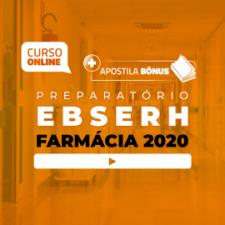 Preparatório Online para Concursos EBSERH em Farmácia 2020