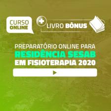 Preparatório Online para Residência SESAB em Fisioterapia 2020