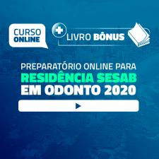 Preparatório Online para Residência SESAB em Odontologia 2020