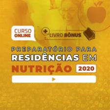 Preparatório Online para Residências em Nutrição 2020 (Com Livro Bônus)