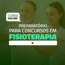 Curso online Preparatório para Provas e Concursos em Fisioterapia (sem livro)
