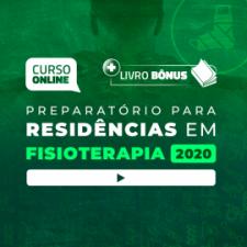 Preparatório Online para Residências em Fisioterapia 2020 (Com Livro Bônus)