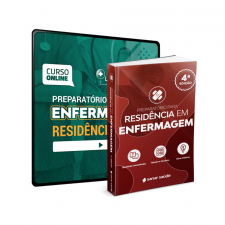 Preparatório Online Extensivo para Residências em Enfermagem 2021 (com livro Bonus)