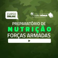 Preparatório Online para Concursos de Forças Armadas em Nutrição 2020 (Com Livro Bônus)