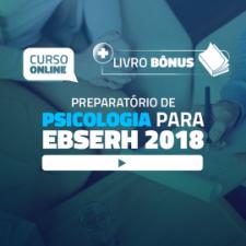 Preparatório Online para Concursos em Psicologia - EBSERH 2018