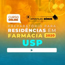 Super Revisão para Residência em Farmácia USP (com apostilas bônus) - 6 meses de acesso