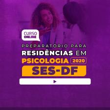 Preparatório Online para Residência SES-DF em Psicologia 2020 + Livro BÔNUS