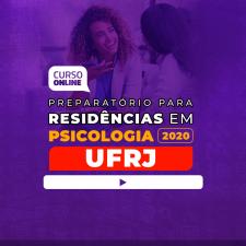 Preparatório Online para Residência UFRJ em Psicologia 2020