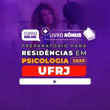 Preparatório Online para Residência UFRJ em Psicologia 2020 + Livro BÔNUS