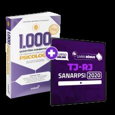 SanarPSI Premium - TJ-RJ + 1.000 Questões BÔNUS (12 Meses de Acesso)
