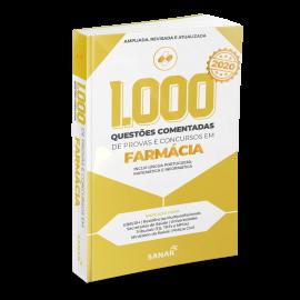1.000 Questões Comentadas de Provas e Concursos em Farmácia 2020