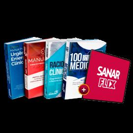 Combo Completo do Ciclo Clínico + Sanarflix Anual