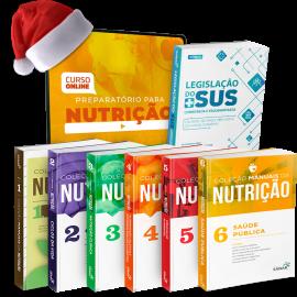 Combo Preparatório para Provas em Nutrição (Concurso e Residência) - [ Combo Exclusivo de Natal]