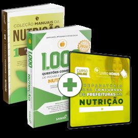 Preparatório Online para Concursos de Prefeituras em Nutrição 2020 (Com 2 Livros Bônus)