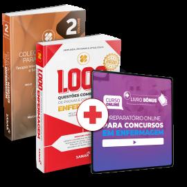Preparatório Online para Concursos em Enfermagem 2020 (Com 2 Livros Bônus)