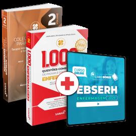 Preparatório Online para Concursos EBSERH em Enfermagem 2020 (Com 2 Livros Bônus)