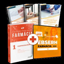 Preparatório Online para Concursos EBSERH em Farmácia 2020 (Com Livro e Apostilas Bônus)