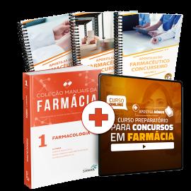 Preparatório Online para Concursos em Farmácia 2020 (Com Livro e Apostilas Bônus)