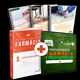 Preparatório Online para Concursos de Forças Armadas em Farmácia 2020 (Com Livro e Apostilas Bônus)