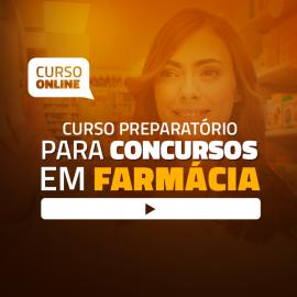 Preparatório Online para Concursos em Farmácia 2020 (Sem Apostilas Bônus) - 6 meses de acesso