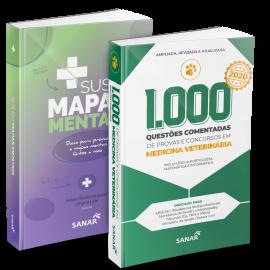 SUS em Mapas Mentais + 1000 Questões em Medicina Veterinária
