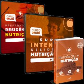 Combo Definitivo para Residências em Nutrição (Extensivo + Intensivo + Livro)