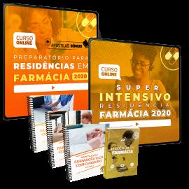 Combo Definitivo para Residências em Farmácia (Extensivo + Intensivo + Livro + Apostilas)