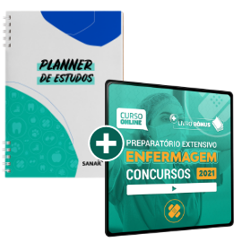 Preparatório Online para Concursos em Enfermagem 2021 (sem livro)