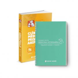 Combo Pequenos Animais - Medicina Veterinária (Clínica Médica + Sanar Note)