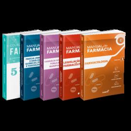 Coleção Manuais de Farmácia para Concursos e Residências (Vol. 1, 2, 3, 4 e 5) (2ª Ed.)
