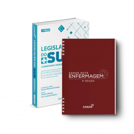 Sanar Note Enfermagem (2ª Ed.) + Legislação do SUS Comentada e Esquematizada - 3ª Edição