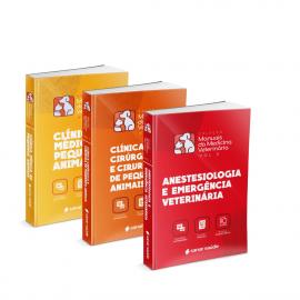 Coleção de Manuais da Medicina Veterinária (Volumes 1, 2 e 3)