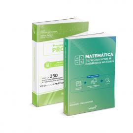 Combo Matemática para Concursos e Residências em Saúde (Teórico + Prático)