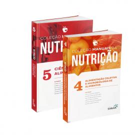 Coleção Manuais da Nutrição para Concursos e Residências (Volumes 4 e 5)