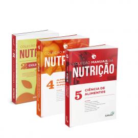 Coleção Manuais da Nutrição para Concursos e Residências (Volumes 2 (2ª Edição) + Volumes 4 e 5)